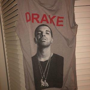 Drake muscle tank top